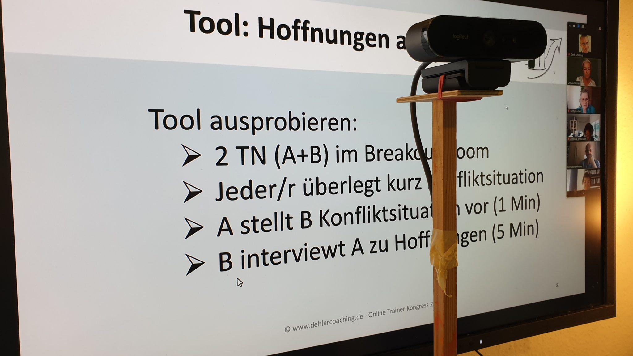 Online Workshop Dehler